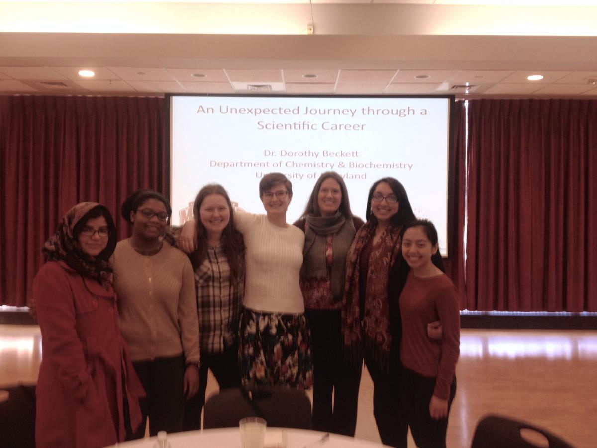 NDMU students at 2017 Women In Science Forum
