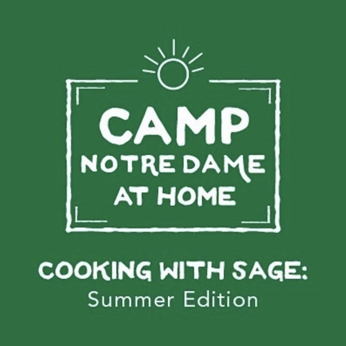 cooking with SAGE logo green