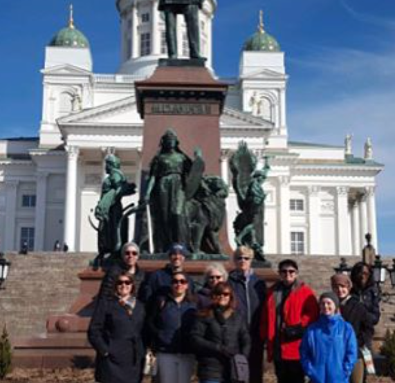 Group Shot Finland spring break 2017