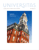 Universitas Cover Winter 2014