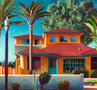 Pleasure Point house painting