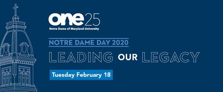 Notre dame day leading our legacy 2020 celebrating 125 years