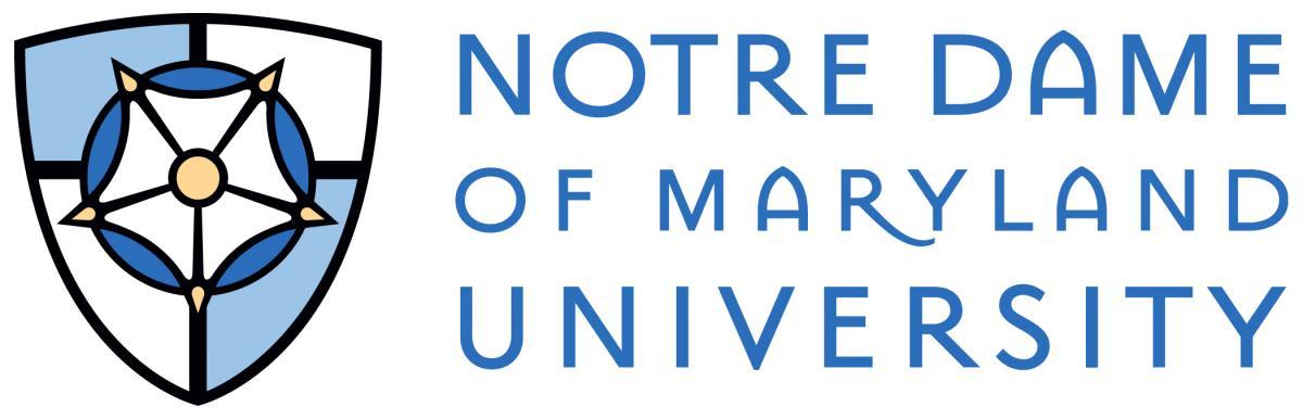 NDMU left logo color