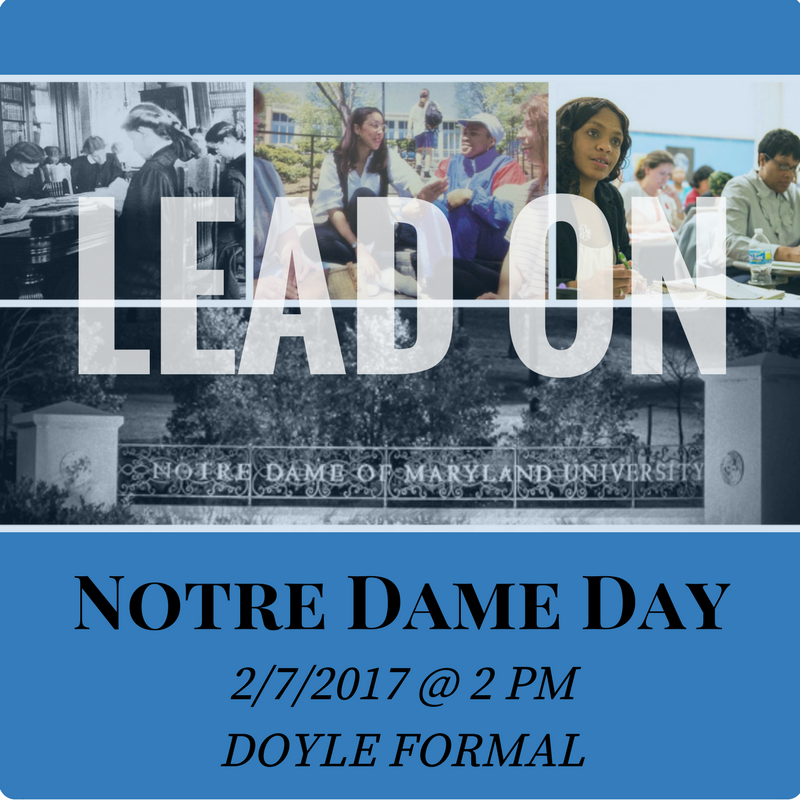 Lead On Notre Dame Day