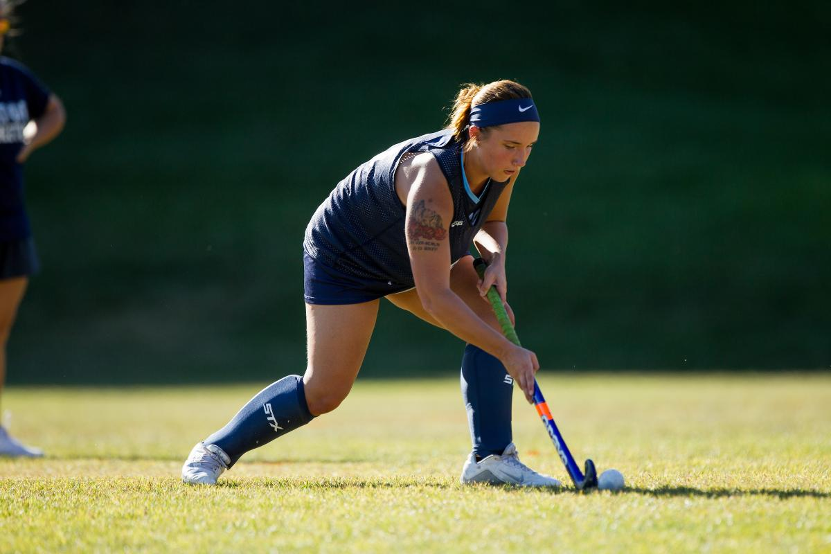 Kastner playing field hockey