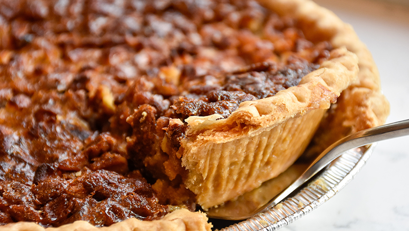 pecan pie being served - Photo by Keighla Exum on Unsplash