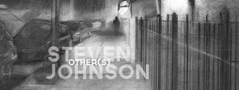 steven johnson other(s) charcoal drawing