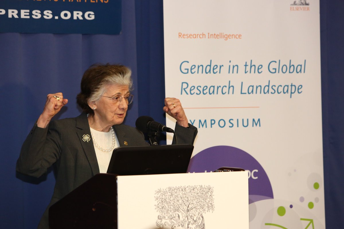 rita colwell gender symposium