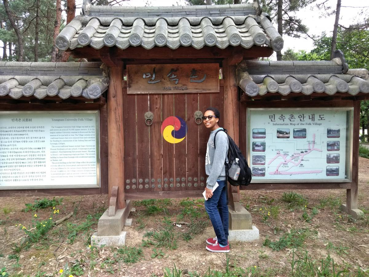 Uloaku sightseeing in South Korea