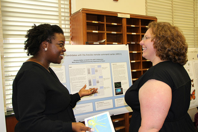 Research Day - Students presents to professor