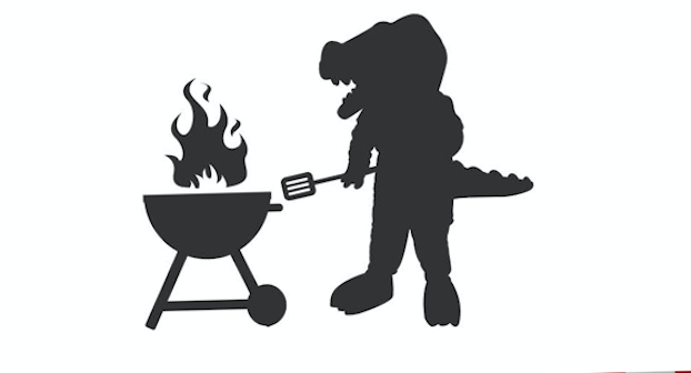 Gabby Gator Grilling Graphic