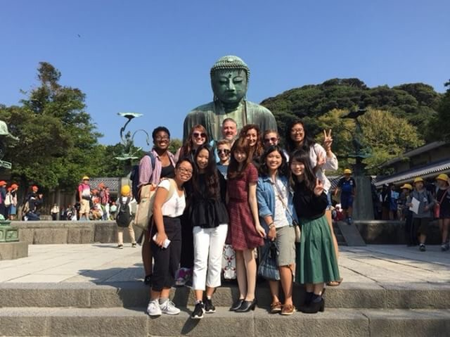 students with budda