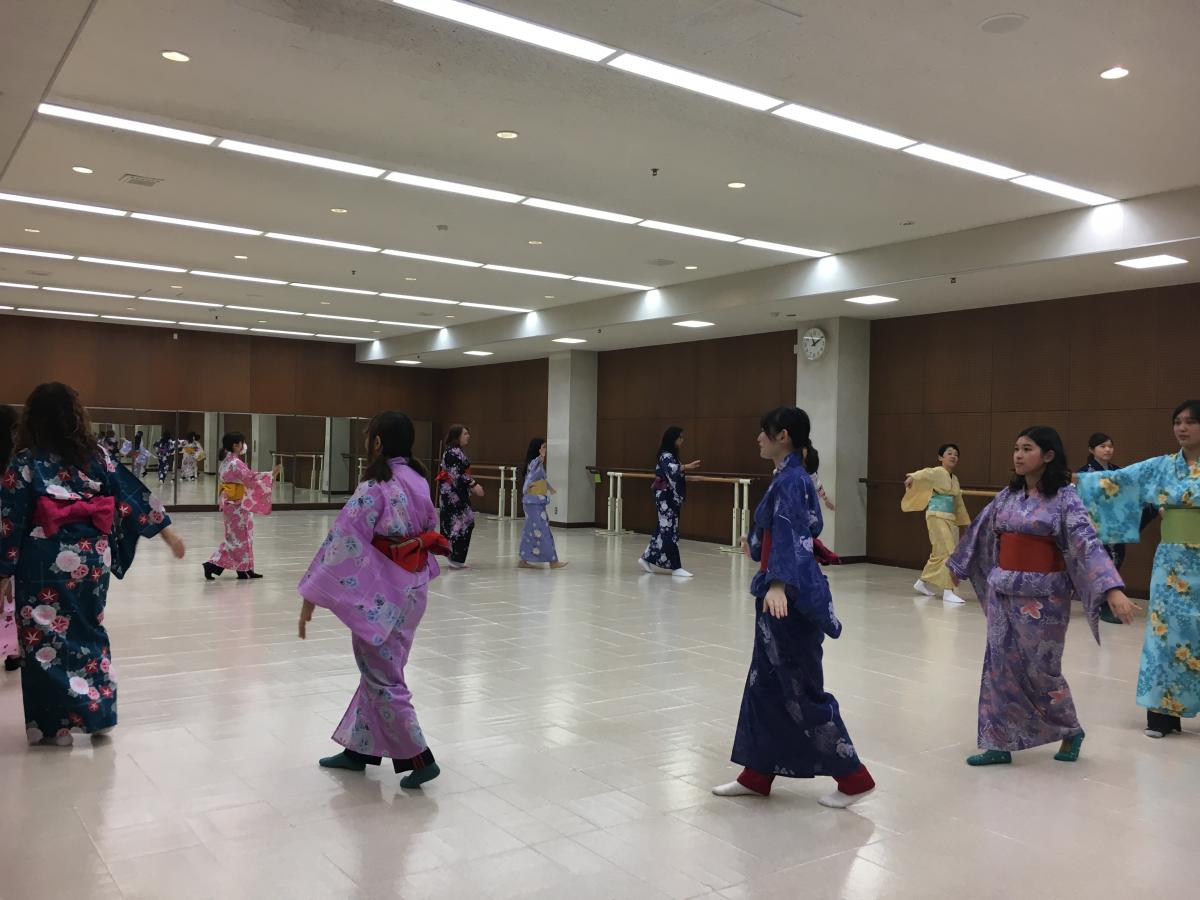 students with kimonos