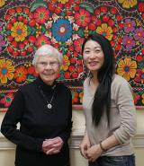 Kathleen (left) and Misako (right)