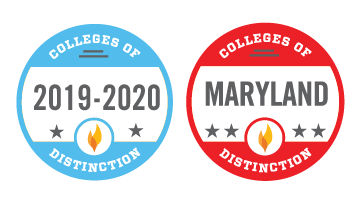Colleges of Distinction Award Badges