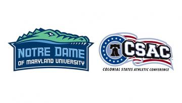 notre dame gators and CSAC logos