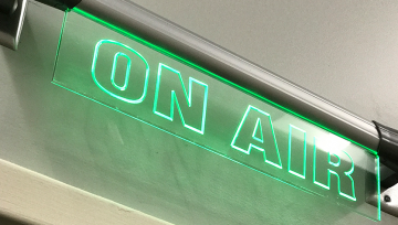 On Air Radio Sign