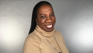 Head shot of Tarana Burke