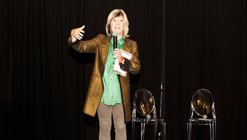 Jude Kelly Speaks at WOW Baltimore on NDMU's campus