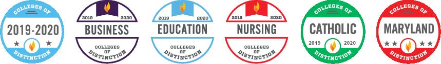 Colleges of Distinction Badges