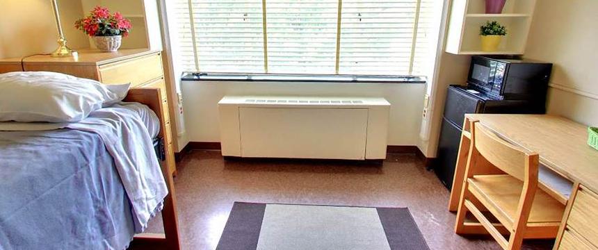 Doyle Hall dorm room