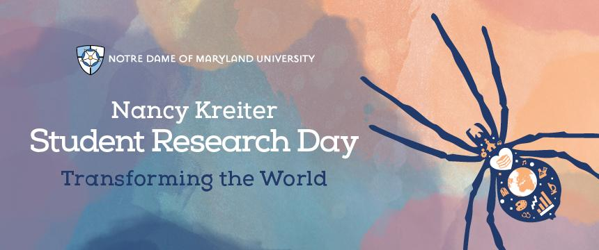 Nancy Kreiter Student Research Day header